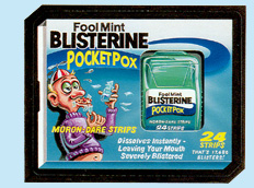 'Blisterine Strips'